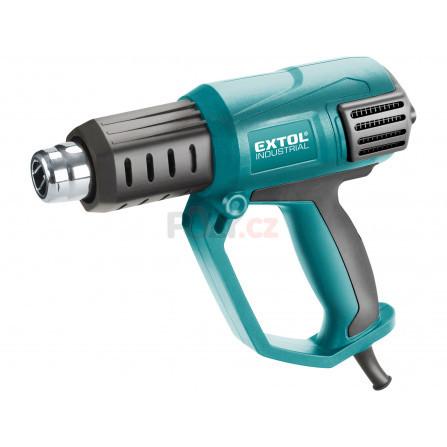Pistole horkovzdušná s plynulou regulací teploty a proudu vzduchu, 2000W, EXTOL 8794800