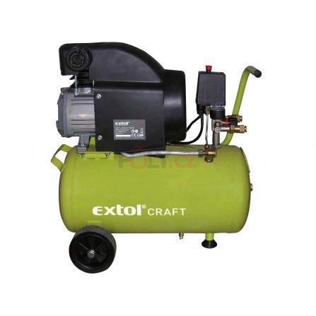 Kompresor olejový, 1500W, 24l, EXTOL 418200