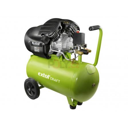 Kompresor olejový, 2200W, 50l, EXTOL 418211