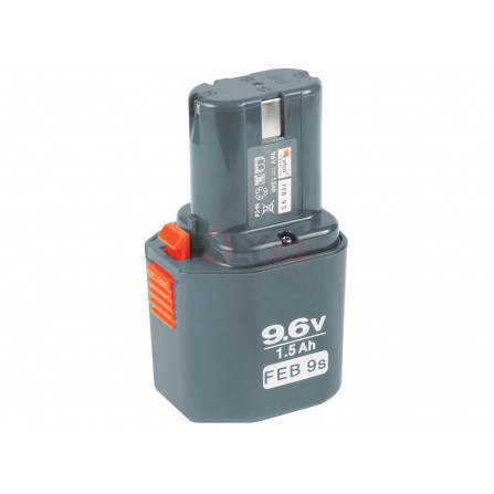 Baterie akumulátorová NiCd, 9,6V pro 8891103 a 8891105, EXTOL 8891103B