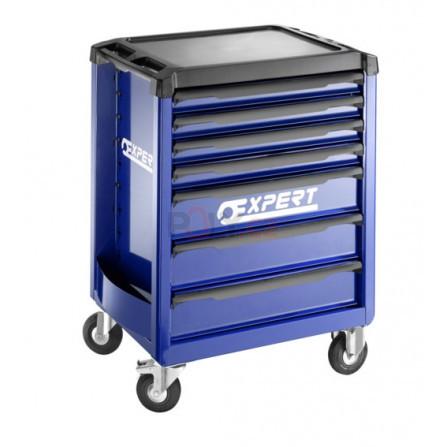 7zásuvková montážní skříň - 3 moduly na zásuvku, Expert E010193