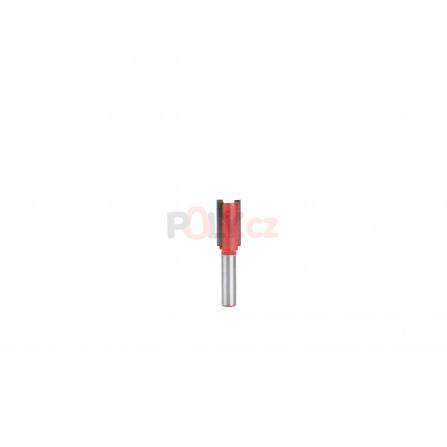 Fréza drážkovací do dřeva, D12,7xH25, stopka 8mm, EXTOL 8802113
