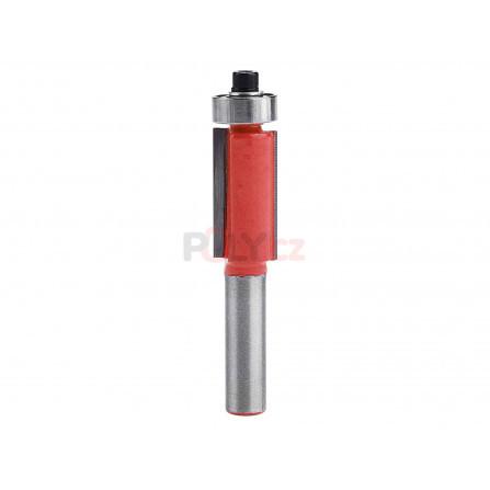 Fréza ořezávací do dřeva, D12,7xH25, stopka 8mm, EXTOL 8802123