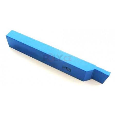 Soustružnický nůž HSS zapichovací levý 16x10x110, 223551