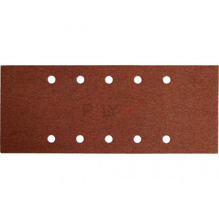Papíry brusné, bal. 10ks, 115x280mm, P120, EXTOL 244120
