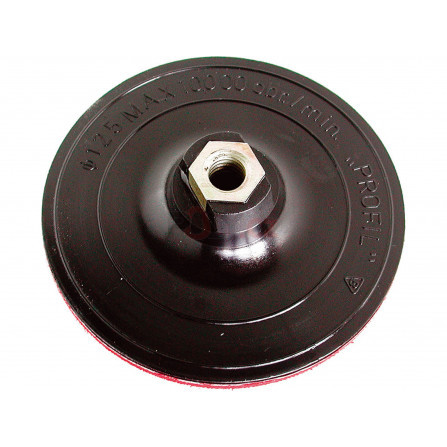 Nosič brusných výseků - M14, suchý zip, ∅125mm, EXTOL 108500