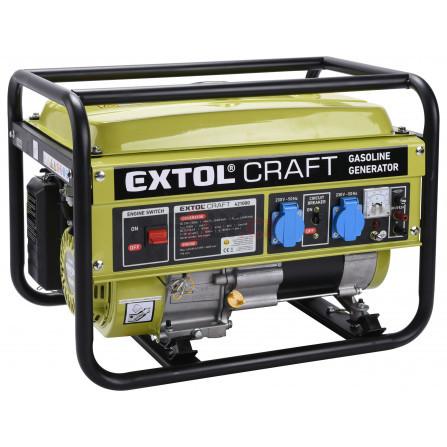 Elektrocentrála benzínová, 6,5HP/2,8kW, EXTOL 421000