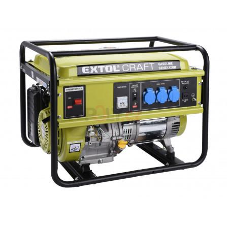 Elektrocentrála benzínová, 13HP/5,5kW, EXTOL 421010