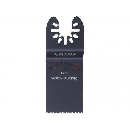 Listy pilové zanořovací na dřevo 2ks, 34mm, HCS, EXTOL 8803852
