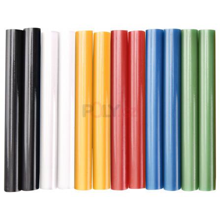 Tyčinky tavné, mix barev, pr.11x100mm, 12ks, EXTOL 9909