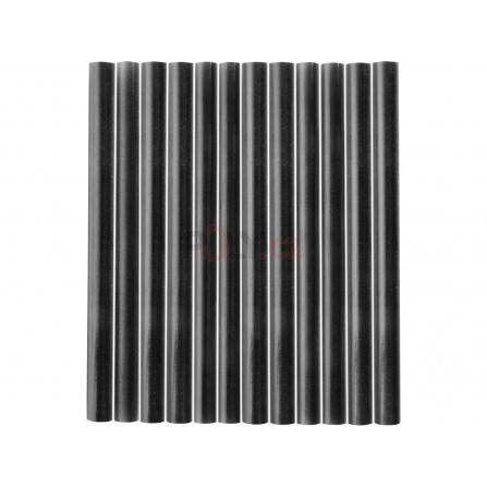 Tyčinky tavné, černá barva, pr.7,2x100mm, 12ks, EXTOL 9912