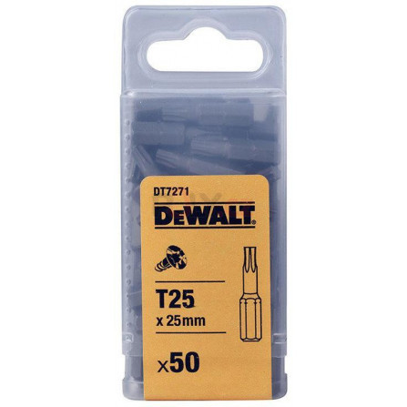 Bity Torsion 25 mm Torx T40 - 5 ks, DeWALT DT7259-QZ