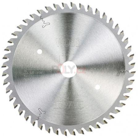 Pilový kotouč 165 × 20 mm, 48 zubů, ATB 0°, pro elektrickou ponornou pilu, DeWALT DT1090-QZ
