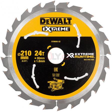 Pilový kotouč 210 x 30 mm, 24 zubů, ideální pro pily FLEXVOLT, DeWALT DT99565-QZ