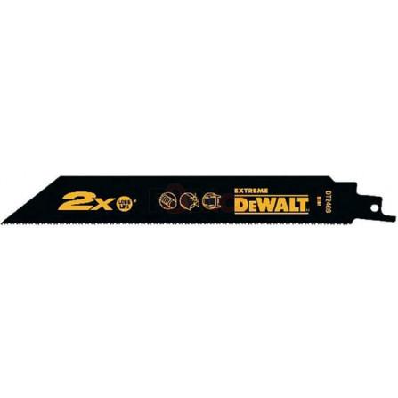 Pilové plátky pro mečovou pilu univerzální pilový list 100 mm 10 TPI (5 kusů), DeWALT DT2315L-QZ
