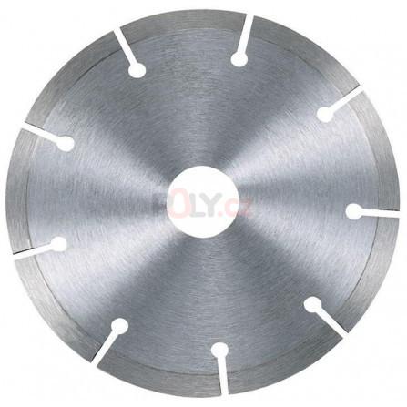 Diamantový kotouč na suché řezání betonu a cihel - 115 × 22,2 mm, profesionální ze slinutých karbidů - 1, DeWALT DT3701-QZ
