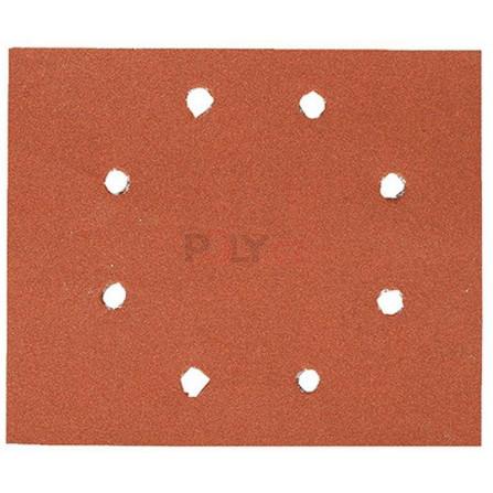Brusný papír 115 x 115 mm, P 80 10 ks v bal, suchý zip, DeWALT DT3022-QZ