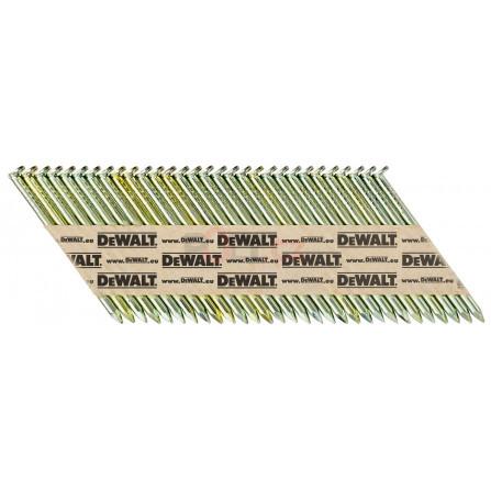 Hřebíky do hřebíkovačky DCN690/6922,8 x 63 mm, hladké, galvan. 2200 ks, DeWALT DNPT2863G12Z