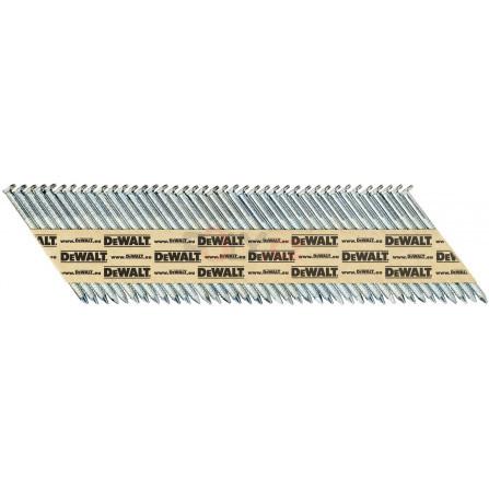 Hřebíky do hřebíkovačky DCN690/6922,8 x 50 mm, konvexní, galvan. 2200 ks, DeWALT DNPT28R50G12Z