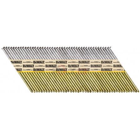 Hřebíky do hřebíkovačky DCN690/6922,8 x 50 mm, konvex žár. zink. 1100 ks, DeWALT DNPT28R50HDZ