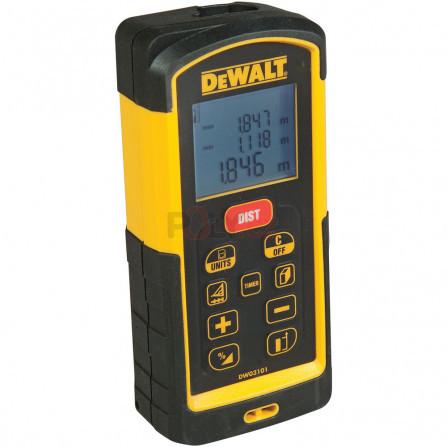 Laserový měřič vzdálenosti - dosah 100 m, DeWALT DW03101-XJ