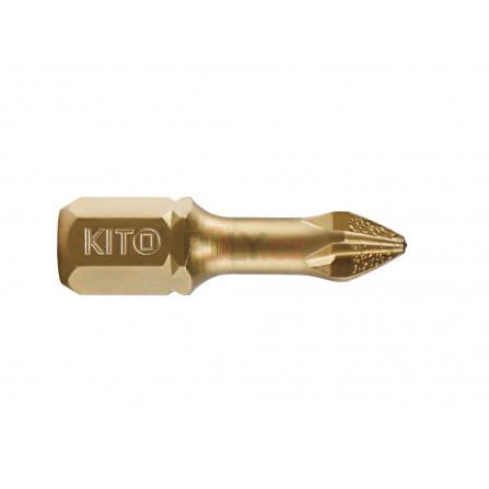 Hrot, PH 1x25mm, S2/TiN, KITO 4820101