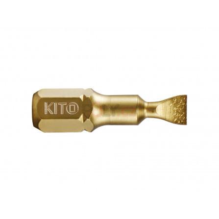 Hrot, 6x25mm, S2/TiN, KITO 4820305