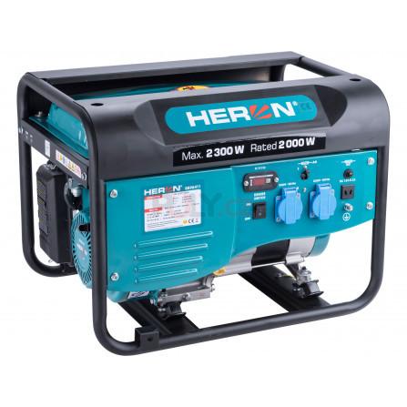 Elektrocentrála benzínová 2,3kW/5,5HP, HERON 8896411