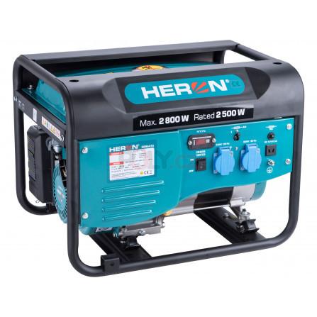 Elektrocentrála benzínová 2,8kW/6,5HP, HERON 8896416
