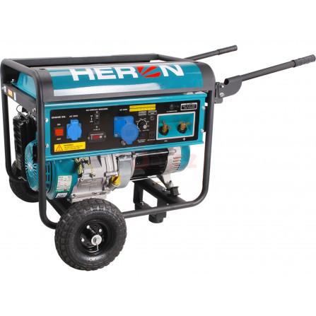 Elektrocentrála se svářečkou 220A, benzínová 14HP/5,5kW, HERON 8896310, EWH 220