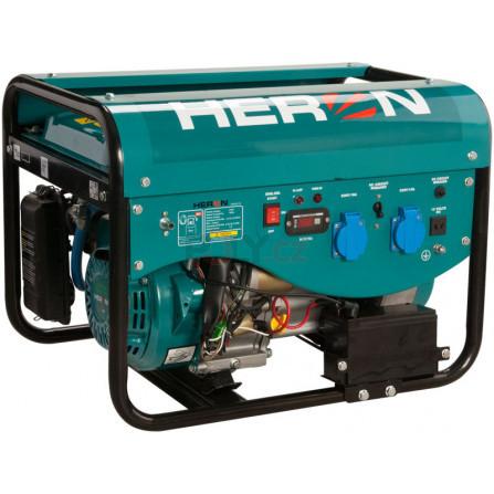 Elektrocentrála benzínová a plynová (LGP/NG) 6,3HP/2,4kW, elektrický start, HERON 8896317, LPGG 22