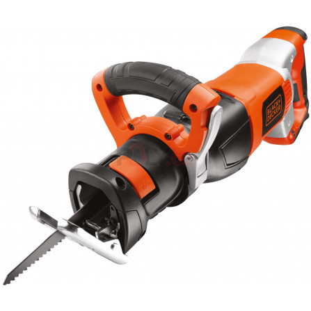 Mečová pila 1050W s reg.ot,zdv.28mm,kufr, Black and Decker RS1050EK