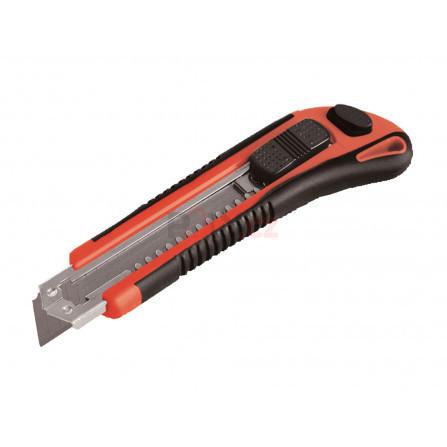 Nůž ulamovací s kovovou výztuhou, 18mm, Auto-lock, EXTOL 80044