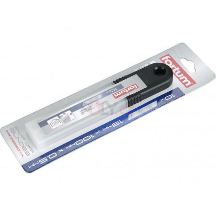 Břity ulamovací do nože nerez, 18mm, 10ks, FORTUM 4780001