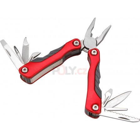 Nůž-kleště kapesní multifunkční s nářadím, 100/67mm, 9 dílů, nerez, EXTOL 8855130