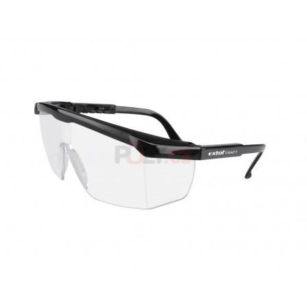 Brýle ochranné čiré, EXTOL 97301