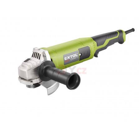 Bruska úhlová s prodlouženou rukojetí, 125mm, 1200W, EXTOL 403127