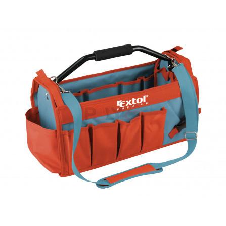 Taška na nářadí s kovovou rukojetí, 49x23x28cm, 31 kapes, nylon, EXTOL 8858022