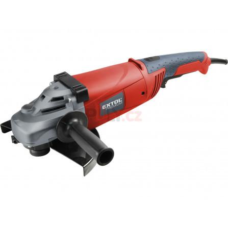 Bruska úhlová, otočná rukojeť, 230mm, 2350W, EXTOL 8892020, AG 230 SR