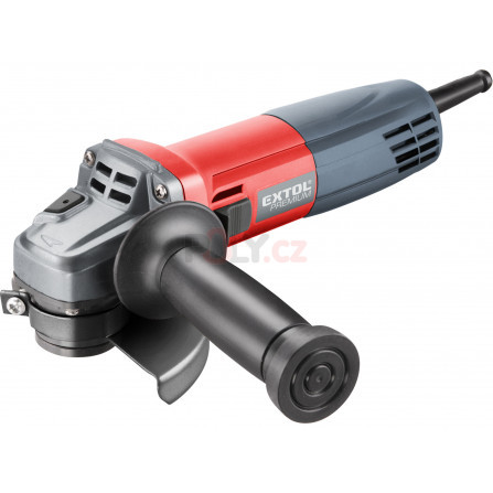 Bruska úhlová, 115mm, 750W (v2016), EXTOL 8892021, AG 115 B