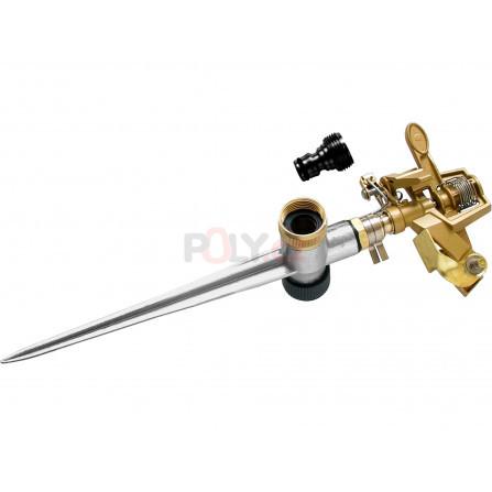 Zavlažovač pulzní kovový, s kovovým , zapichovacím bodcem, MOSAZ, EXTOL 70219