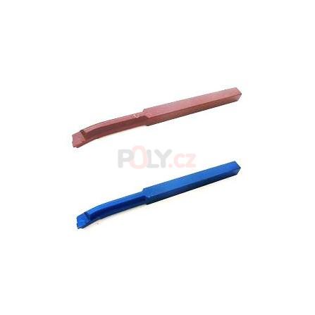 Soustružnický nůž vnitřní 16X16 K10/H10 s pájenou destičkou z SK, ČSN 223726