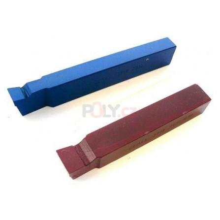 Soustružnický nůž vnější pravý 25X16 P10/S10 s pájenou destičkou z SK, ČSN 223718