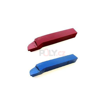 Soustružnický nůž vnější pravý 10X10 K10/H10 s pájenou destičkou z SK, ČSN 223716