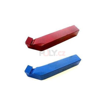 Soustružnický nůž vnější levý 10X10 K10 s pájenou destičkou z SK, ČSN 223713