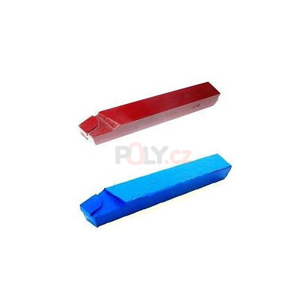 Soustružnický nůž vnější levý 25X25 K10/H10 s pájenou destičkou z SK, ČSN 223711