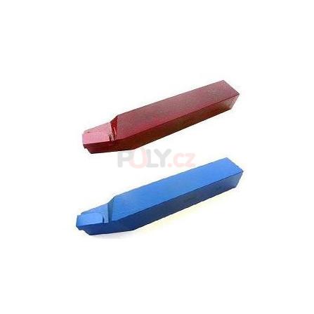 Soustružnický nůž vnější pravý 10X10 P30/S30 s pájenou destičkou z SK, ČSN 223710