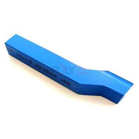 Soustružnický nůž HSS ubírací stranový 16x16x140, 223524