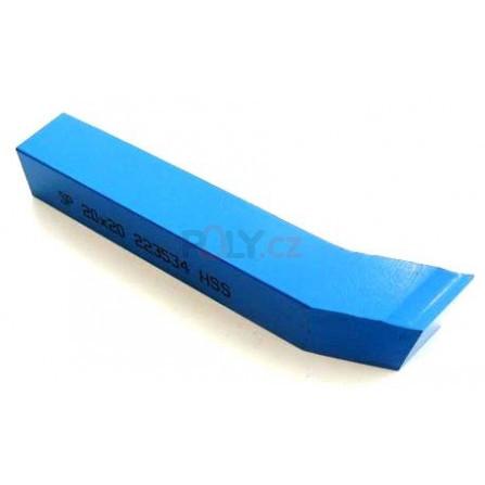 Soustružnický nůž HSS rohový 20x20x160, 223534