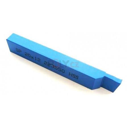 Soustružnický nůž HSS zapichovací 20x12x125, 223550